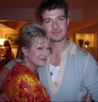 Robin Thicke en Famille Robinandhismom