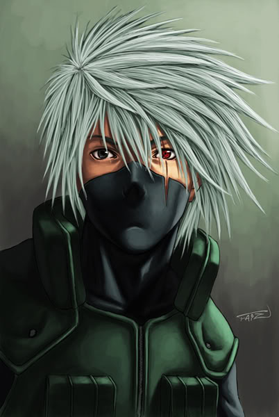 ◄♥♥ Daily note ♥♥► - صفحة 3 Kakashi_portrait_by_hide07