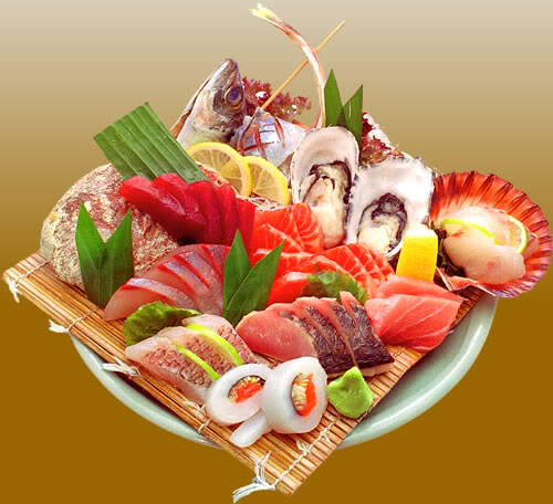 A comer sashimi! SashimiPlatter