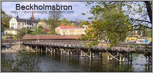 Beckholmsbron Beckholmsbron