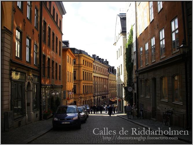 Calles de Riddarholmen CallesdeRiddarholmen