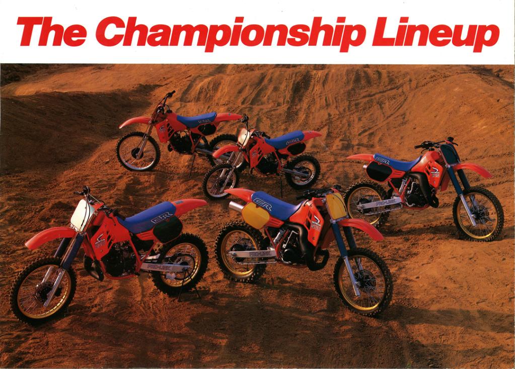 Gamle motorsykkelbrosjyrer Honda-CR-range-1986-5-W1080