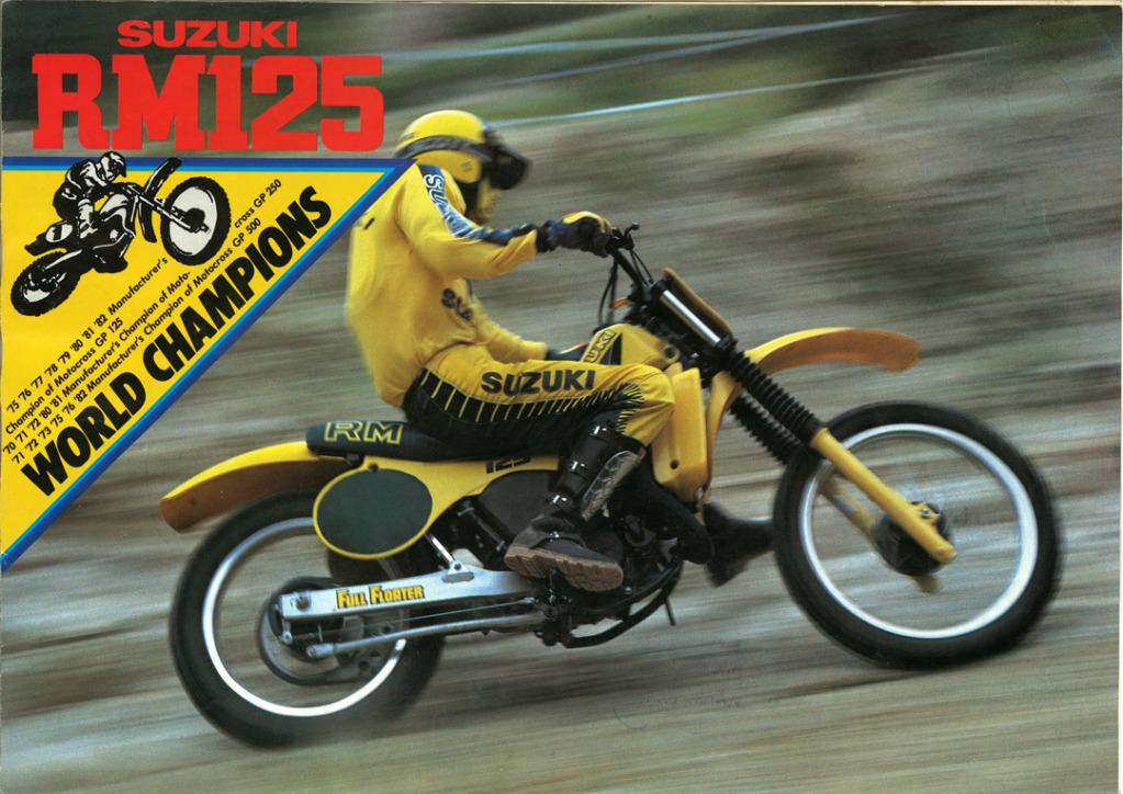 Gamle motorsykkelbrosjyrer Suzuki-RM-125-1983-1-W1080