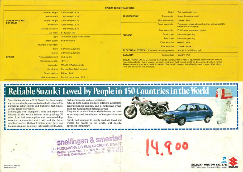 Gamle motorsykkelbrosjyrer Suzuki-RM-125-1983-4-W1080