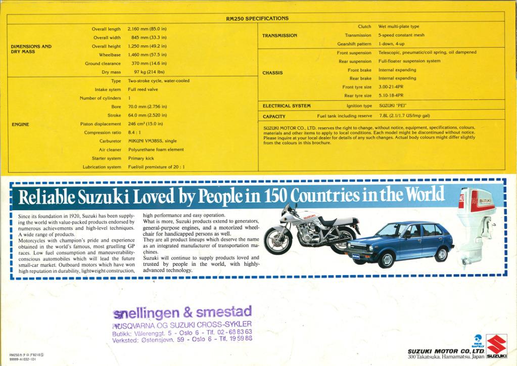 Gamle motorsykkelbrosjyrer Suzuki-RM-250-1983---4-W108