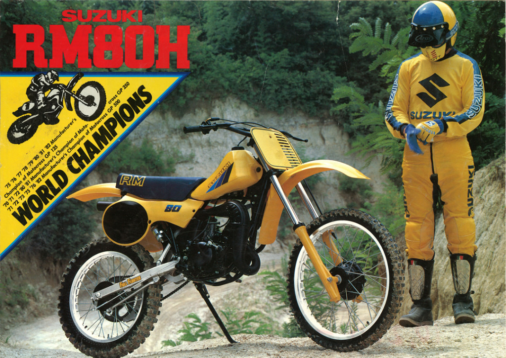 Gamle motorsykkelbrosjyrer Suzuki-RM-80-H-1983-1-W1080