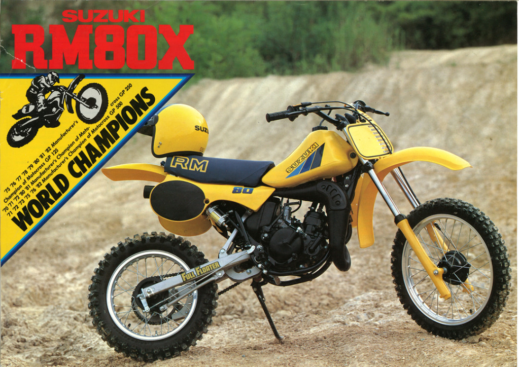 Gamle motorsykkelbrosjyrer Suzuki-RM-80-X-1983-1-W1080