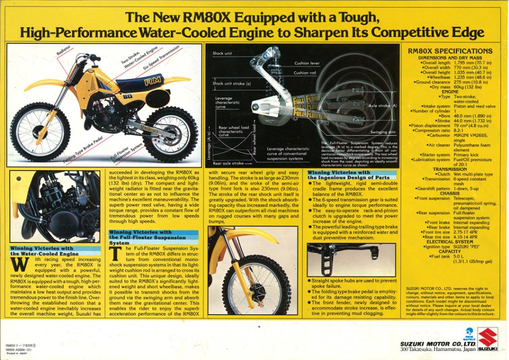 Gamle motorsykkelbrosjyrer Suzuki-RM-80-X-1983-2-W1080