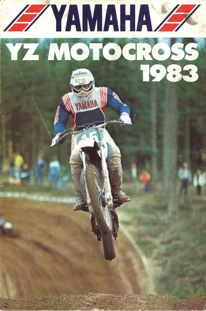Gamle motorsykkelbrosjyrer YZ-range-1983-1-h1080