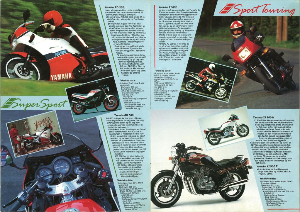 Gamle motorsykkelbrosjyrer - Page 2 Yamaha-models-Norway-1986-3