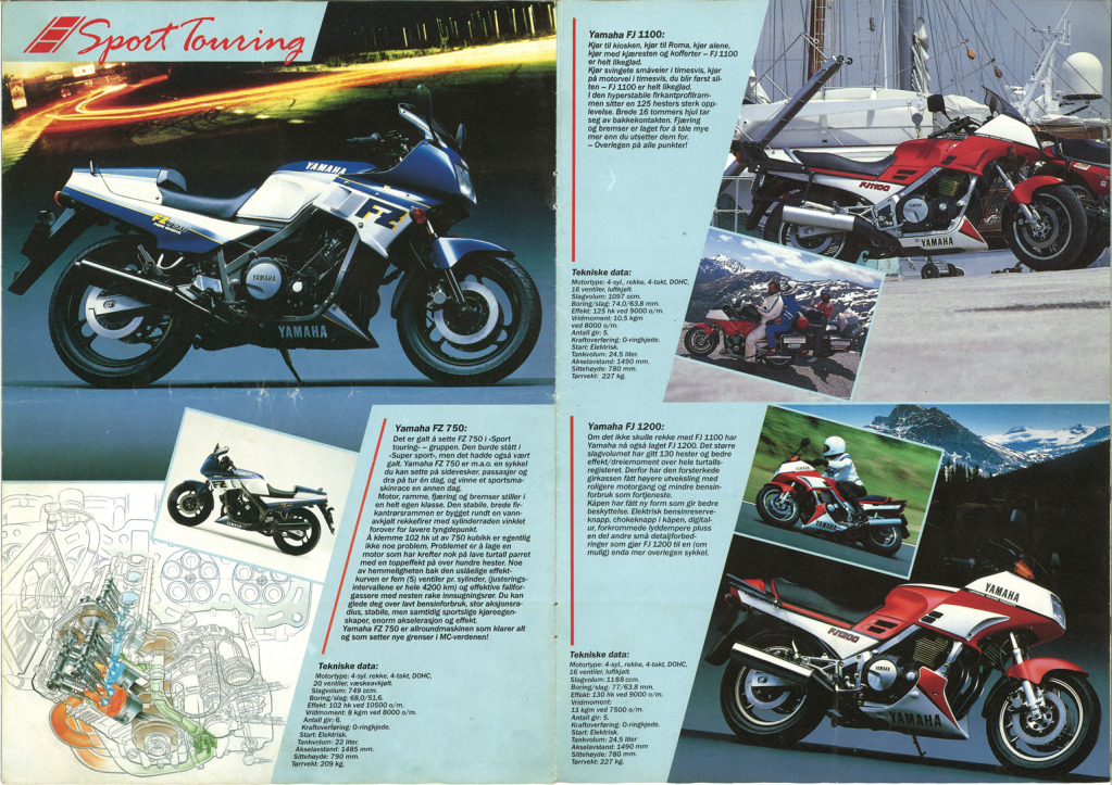 Gamle motorsykkelbrosjyrer - Page 2 Yamaha-models-Norway-1986-5