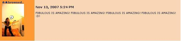 Fobulous Fanatics 091307