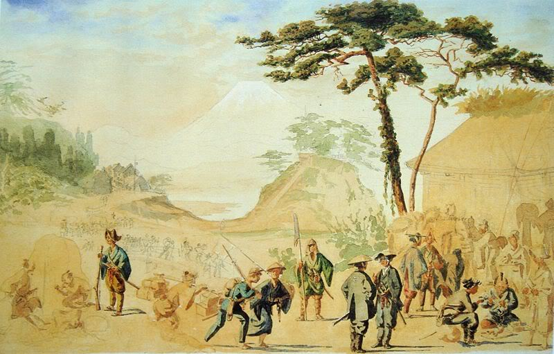 [Lịch sử] Bakumatsu (Mạc Mạt) 800px-BakufuTroopsIn1867