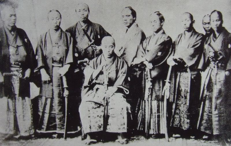 [Lịch sử] Bakumatsu (Mạc Mạt) 800px-FirstJapaneseMission