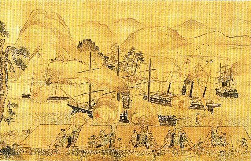 [Lịch sử] Bakumatsu (Mạc Mạt) 800px-ShimonosekiShooting