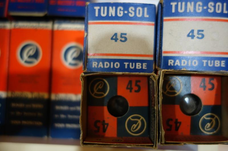 NOS NIB RCA/ TungSol/ Cunningham UX245 & Type45 DSC02758_zpsnnzkqsqs