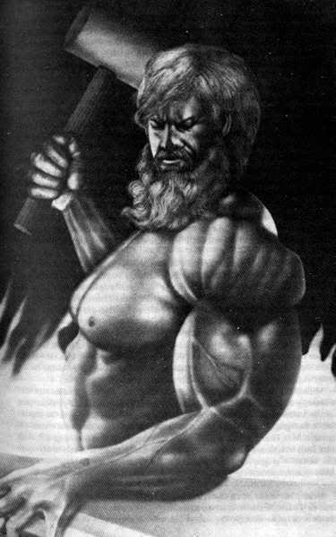 Mitología griega Hefestos