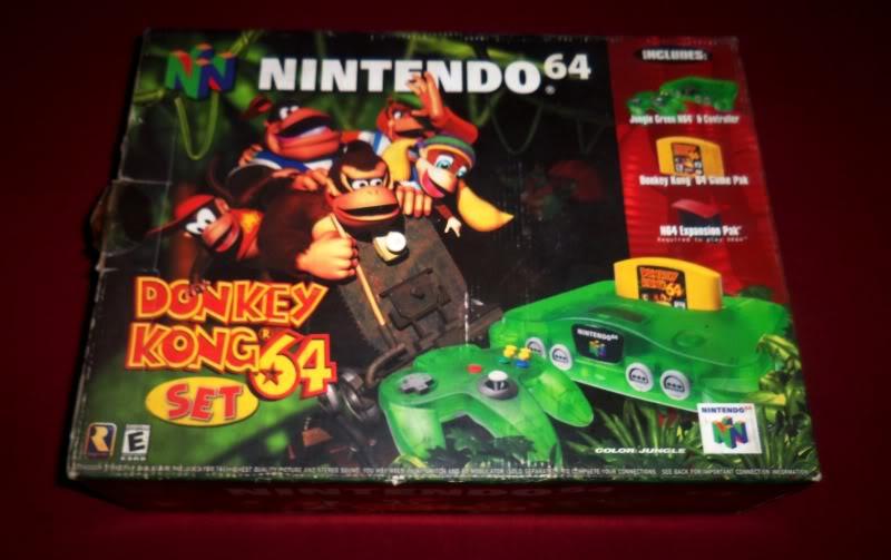 colección actualizada de kurono por el fin del mundo 21-12-12 Nintendo64DKset