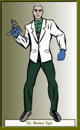Create your own Superhero/Villain DrNemoSyxV
