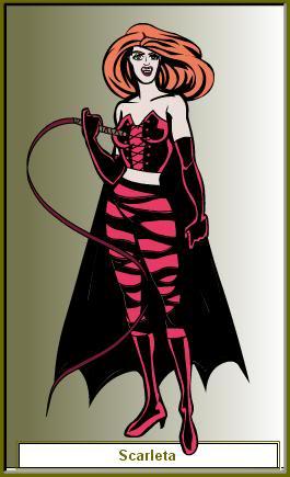 Create your own Superhero/Villain ScarletaV