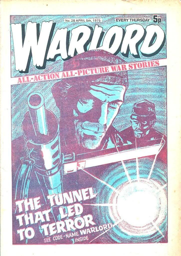 Classic Comic Covers Warlord28-Page1