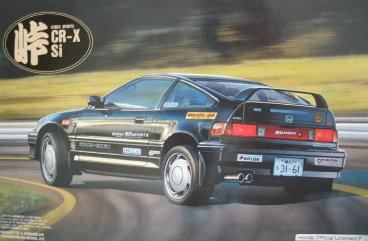 Honda Cr-x 001