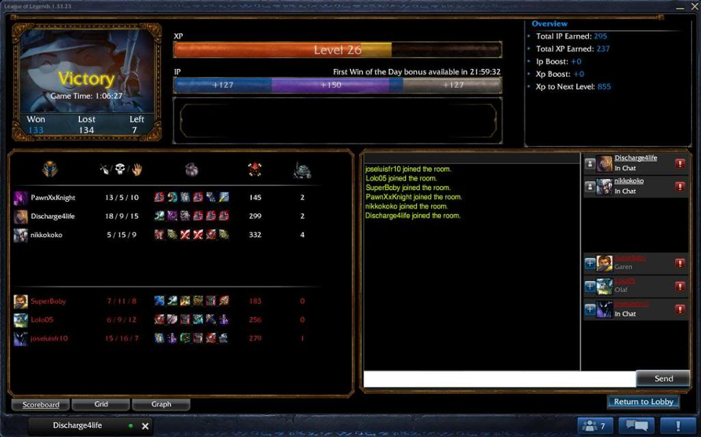Screenshots for League of Legends Conniegame2