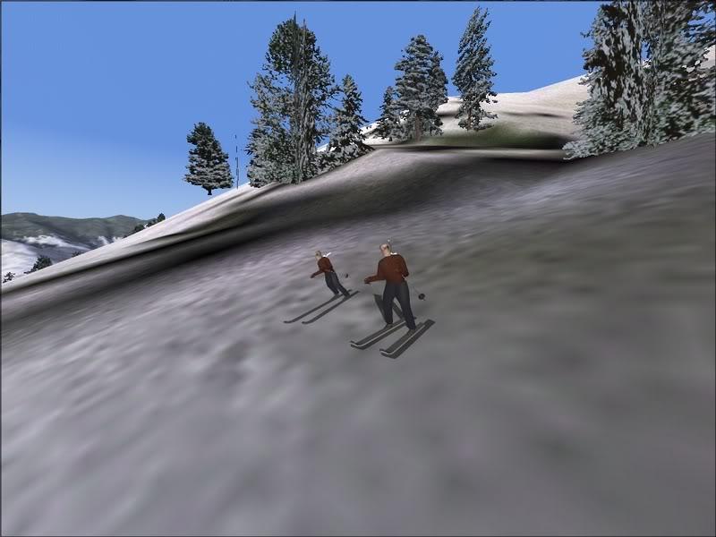 [Fs9]Esquiando com tigre de bengala 030
