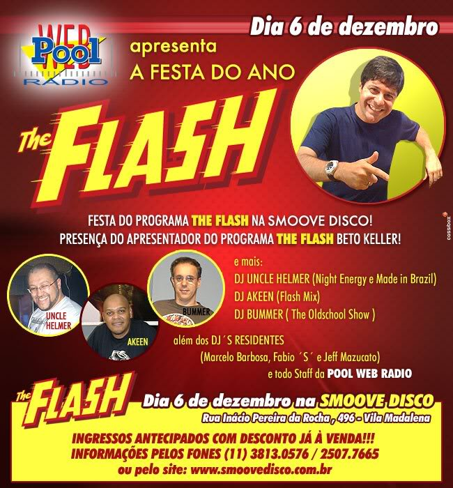 THE FLASH - A FESTA DO ANO - 6 DE DEZEMBRO Smoove