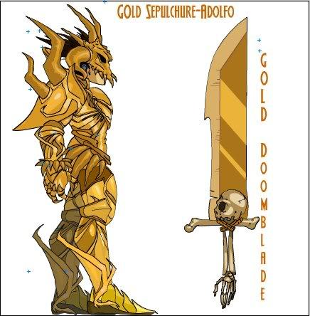 [Gold]Sepulchure Armor Sepulchure-1