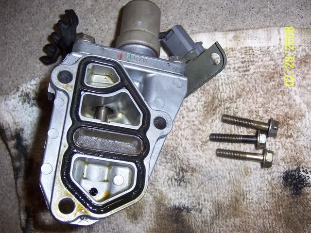 How to: Vtec Solenoid Cleaning Step6