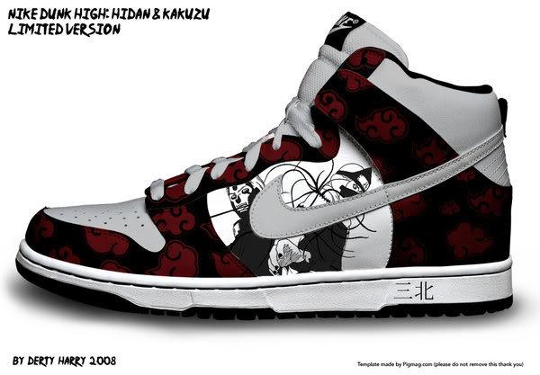 Zapatillas de Naruto 1zyyh3m