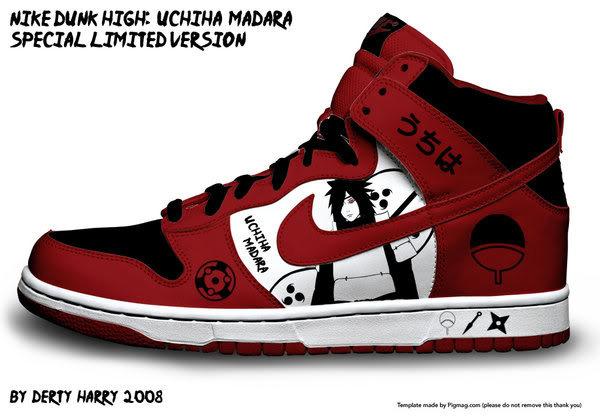 Zapatillas de Naruto 2d6wsnk