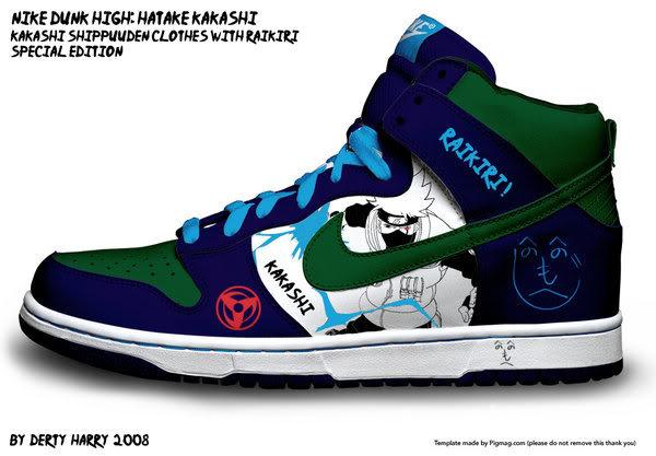 Zapatillas de Naruto 2po5kw5