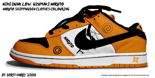 Zapatillas de Naruto 301d9jm