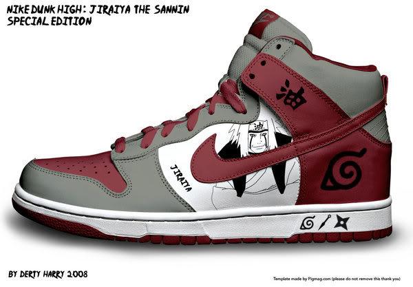 Zapatillas de Naruto 33euf55