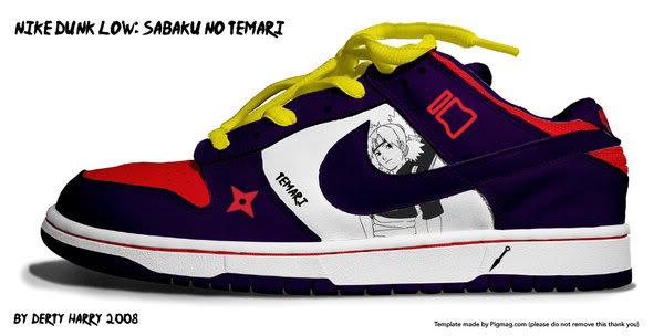 Zapatillas de Naruto 9sxea9