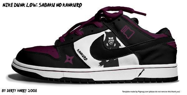 Zapatillas de Naruto Fyon49