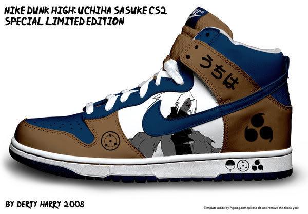 Zapatillas de Naruto Rcqxd4