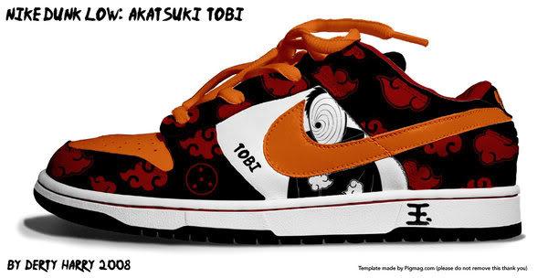 Zapatillas de Naruto Rshqn5