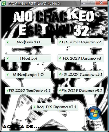 AIO Crackeo ESET Nod32 AIO