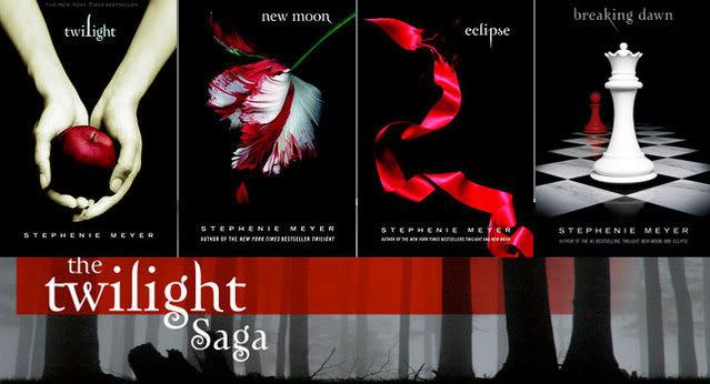 Hai sa recomand si eu cateva carti dragi mie TwilightSaga