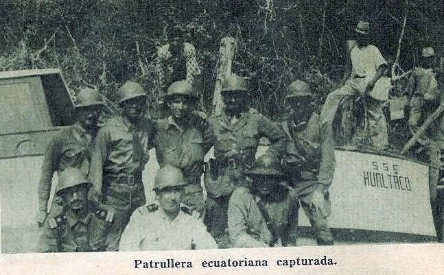 CAMPAÑA DE 1941 : GUERRA PERUANO- ECUATORIANA Mono52