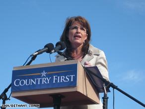 Signe de détresse: Sarah Palin critique MC Cain Art.swain.cnn