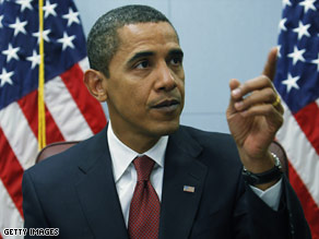 Obama will ban earmarks from stimulus bill Art.obama.thurs2.gi