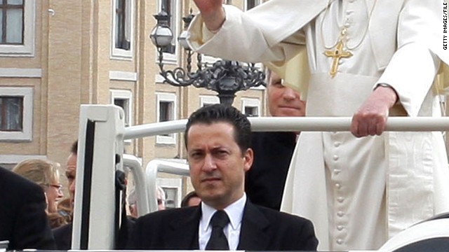 Pope's butler arrested over Vatican documents leak 120526101343-paolo-gabriele-story-top
