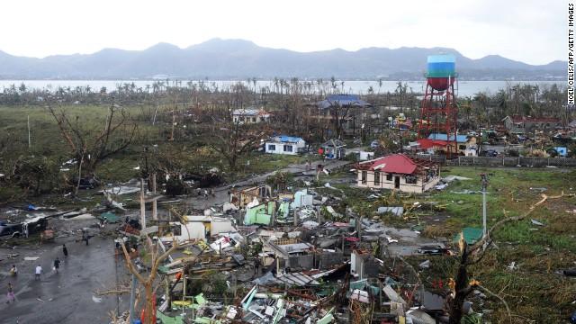 'Worse than hell' in typhoon-ravaged Philippines  131109012416-tacloban-typhoon-horizontal-gallery