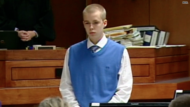 17 Year Old Joshua Young On Trial For Complicity To Murder In The Death Of Stepbrother, Trey Zwicker. Joshua Young's Father Joshua Gouker Pled Guilty To Zwicker's Murder And Sentenced To Life. Young found NOT GUILTY! Screen_shot_2013-07-29_at_1.19.42_pm
