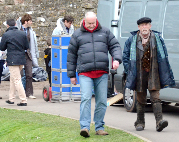 'Doctor Who': John Hurt character confirmed? Uktv-doctor-who-50th-anniversary-filming-5