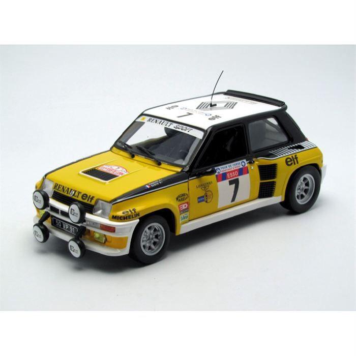 Renault 5 Turbo SODICAM #3 Tour De Corse 1982 Renault-1-18-5-turbo